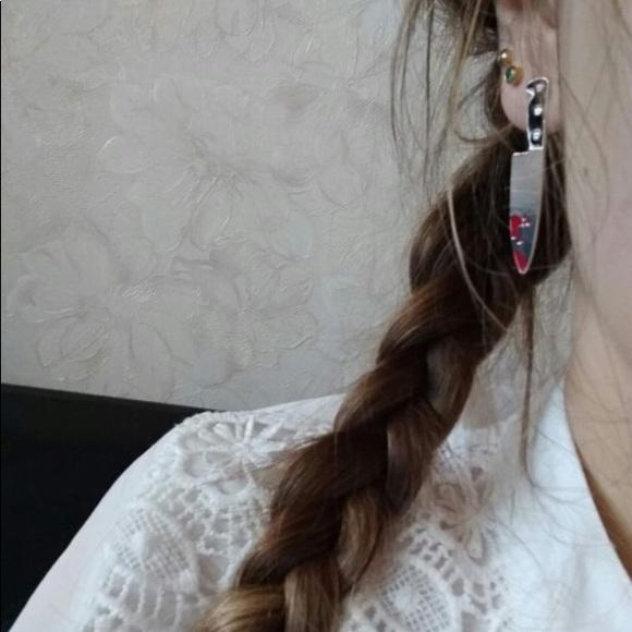 Jewelry - Bloody Knife Earrings